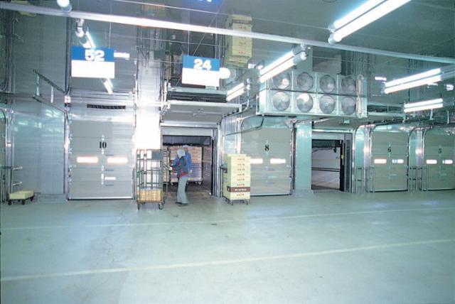 いかりスーパーマーケット 検品室の画像・写真